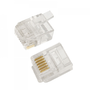 6p6c, rj12, 6p6c = 6 position 6 conductor – used in system phones