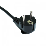 leads direct mains wiring angled schuko plug moulded png
