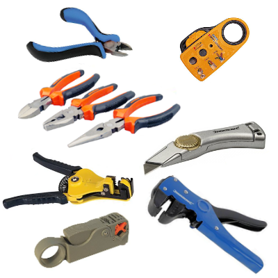 Cutters, Strippers and Knives