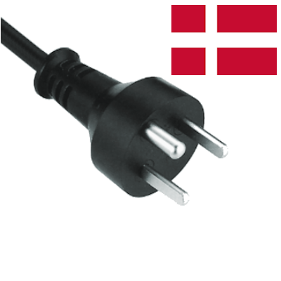 Danish (Type K) Mains Leads