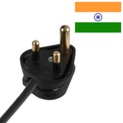 Indian (Type D) Mains Leads