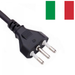 Italian (Type L) Mains Leads