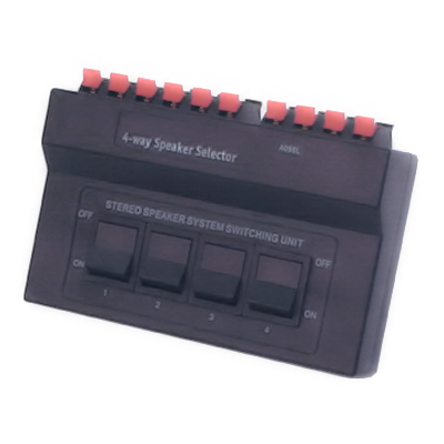 Leads Direct 4 Way Speaker Switch Box