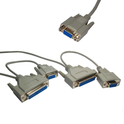 Serial Null Modem Leads