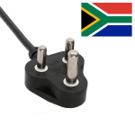 South African (Type M) Mains Leads