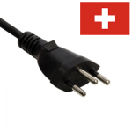 Swiss (Type J) Mains Leads