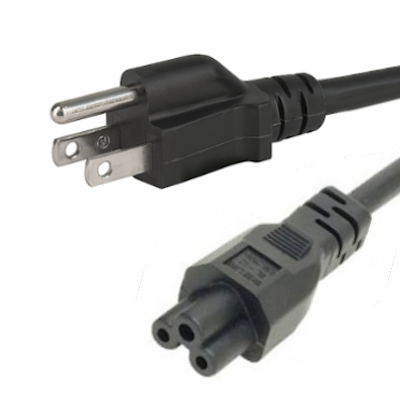 Leads direct wiring an american plug us nema5 15p 3 pin plug to iec c5 cloverleaf connector type b plug 2m asfbconference2016 Image collections