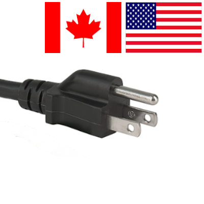US (Type A and Type B) Mains Leads